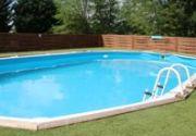 holidays France Lac de la Grange swimming pool