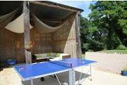 holidays France Lac de la Grange table tennis