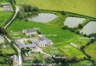 Aerial photo of Nettlecombe Farm