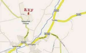 Directions to Bain Valley Fisheries Lincolnshire