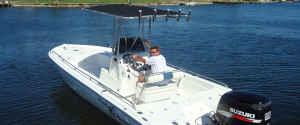 23ft Fish Master bay boat