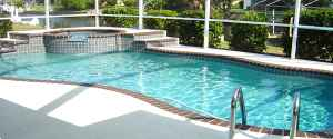 large pool spa