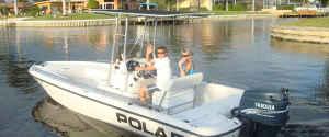 23ft Polar Bay fishing boat
