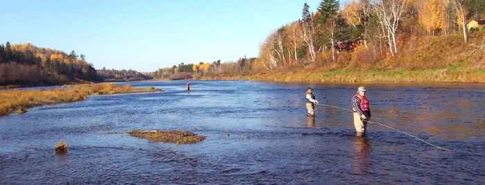 Fly Fishing Holidays in Canada Country Haven Lodge and Cottages, Miramichi