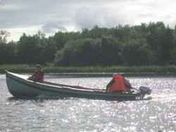 fishing from boat staying at Foalies Bridge self catering fishing holidays accommodation Cavan Ireland