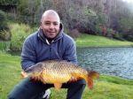 carp caught at Malston Mill Farm Fishing Lake in Devon